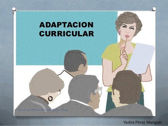Adaptacion Curricular