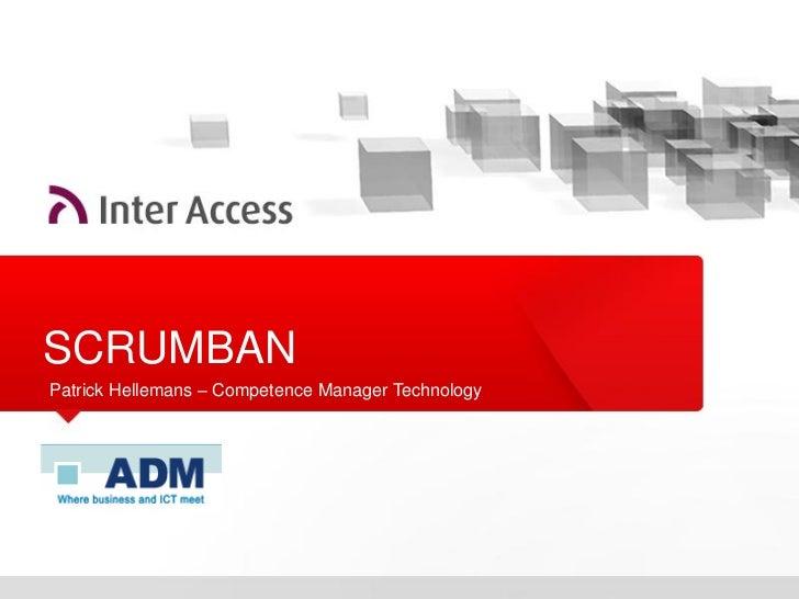 Presentation ADM - SCRUMBAN