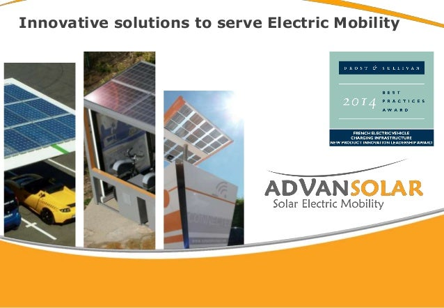 Innovative solutions to serve Electric Mobility