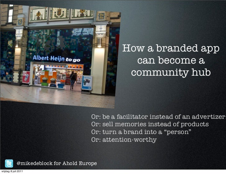 How a branded app                                                   can become a                                          ...