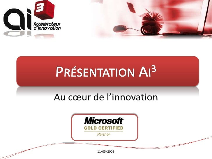 Presentation Ai3   Journée Web Agency