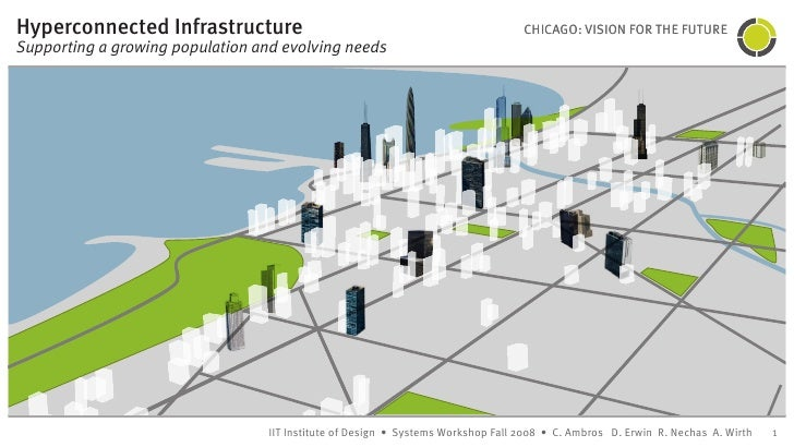 Hyperconnected Infrastructure                                                     CHICAGO: VISION FOR THE FUTURE Supportin...