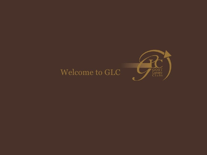 Welcome to GLC