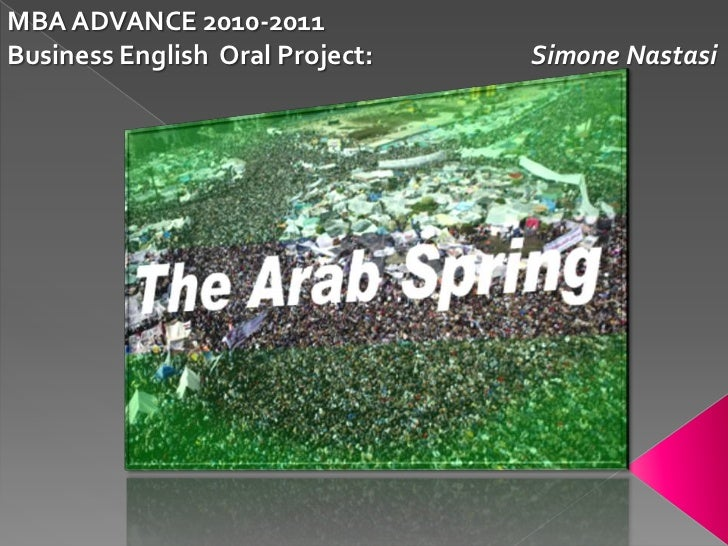 MBA ADVANCE 2010-2011<br />Business English  Oral Project:                           Simone Nastasi<br />