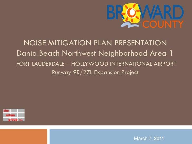 Presentation - Westside Area 1 (Ravenswood)