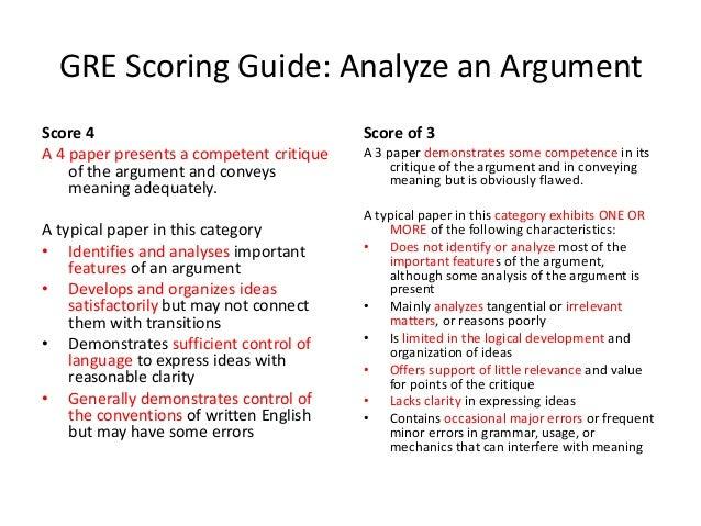 Gre Argument Essay Sample