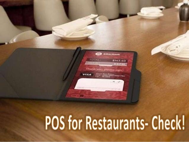POS for Restaurants- Check!
