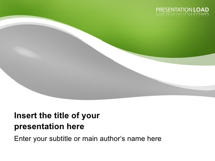 Insert the title of your  presentation here Enter your subtitle or main author's name here