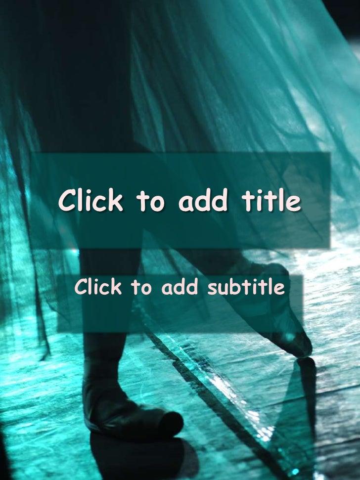 Presentation (Ballet)