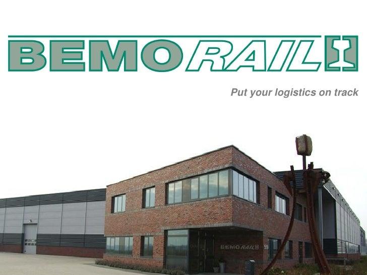 Put your logistics on track