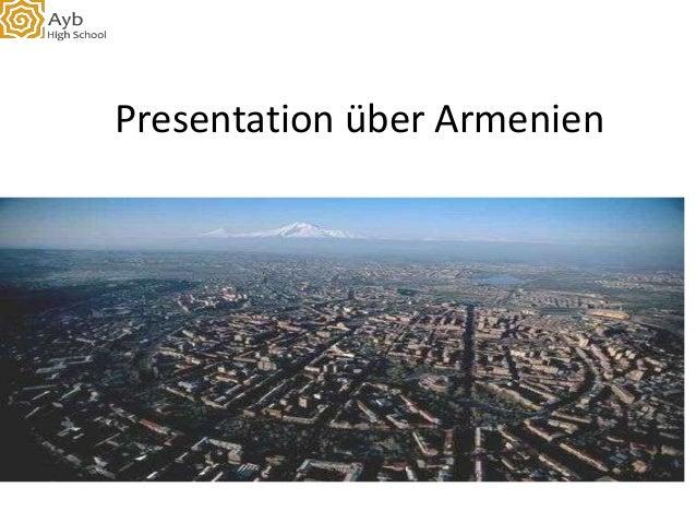 Presentation über Armenien