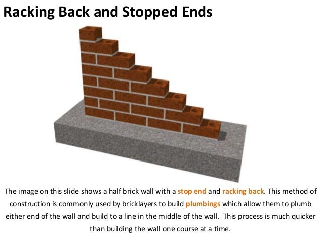 how to build a half wall on concrete