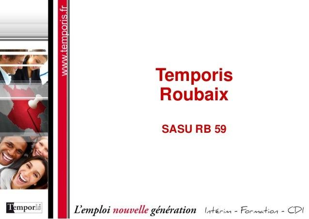 Temporis Roubaix SASU RB 59