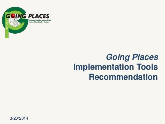 Phase III Implementation Tools endorsement presentation