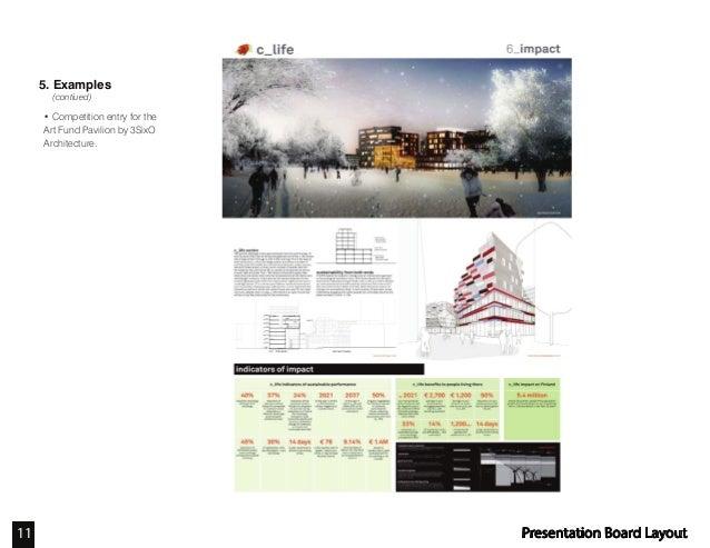 Presentation Board Design Architecture >> Presentation Board Layout