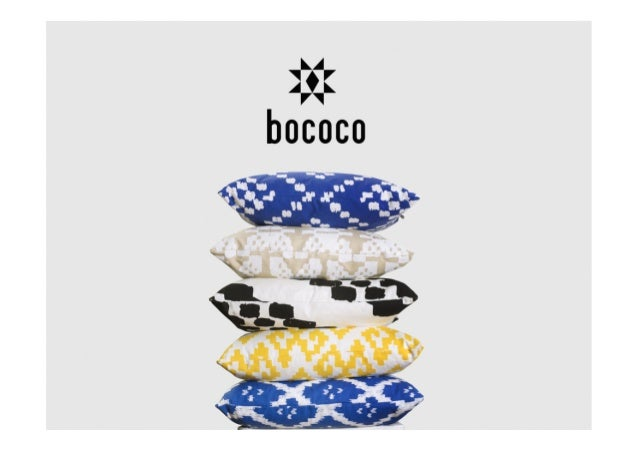 ABOUT INSPIRATION PRODUCTS MARKETING/SALES FIN about bococo We are a socially and culturally inspired brand that designs t...