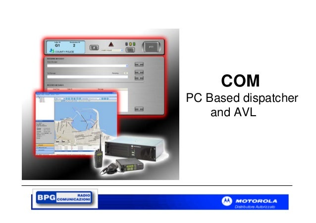 COM PC Based dispatcher and AVL