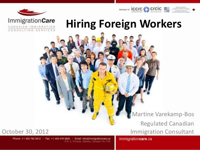 Hiring Foreign Workers