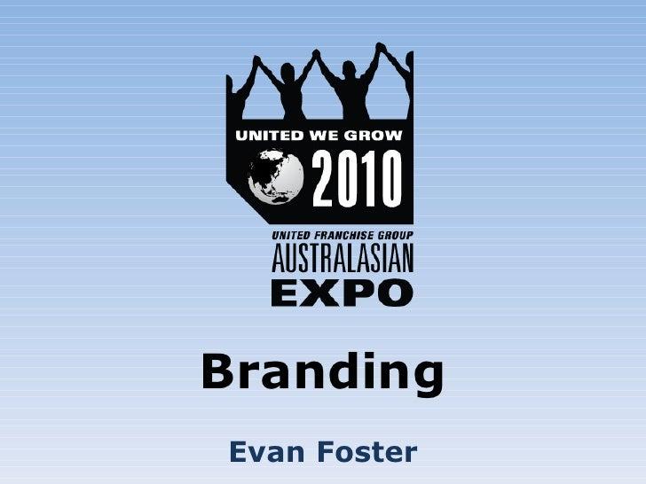 Branding Evan Foster
