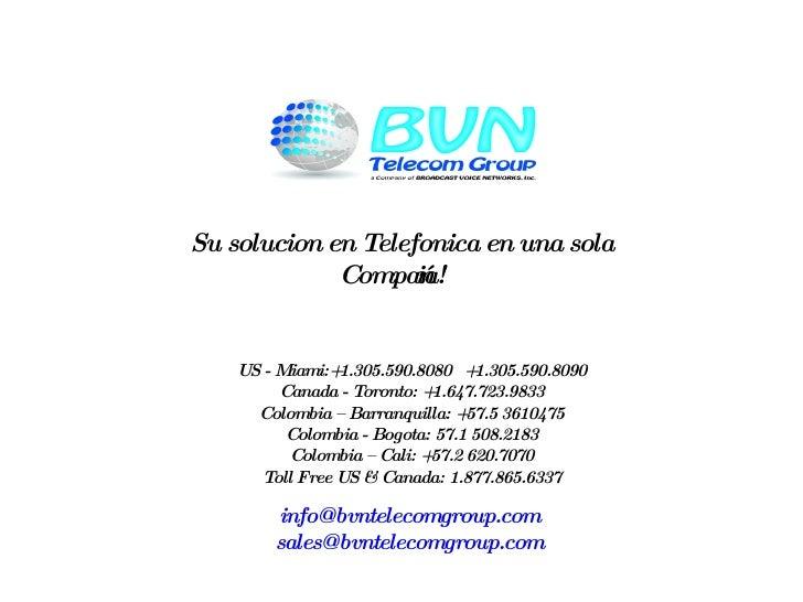 Presentation Brovoinet Espanol