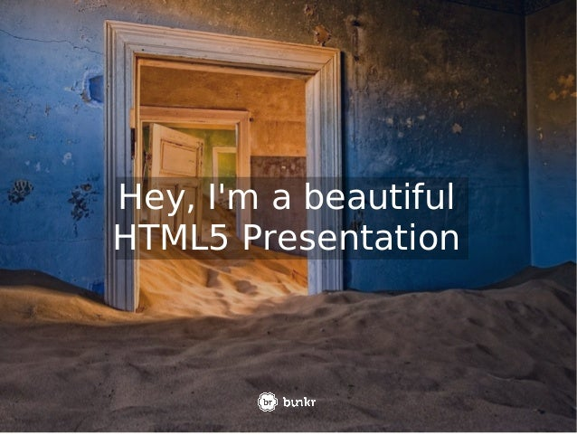 Bunkr - Forget Powerpoint