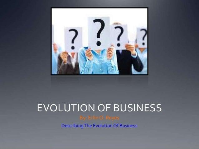 Evolution of Business Presentation Technology