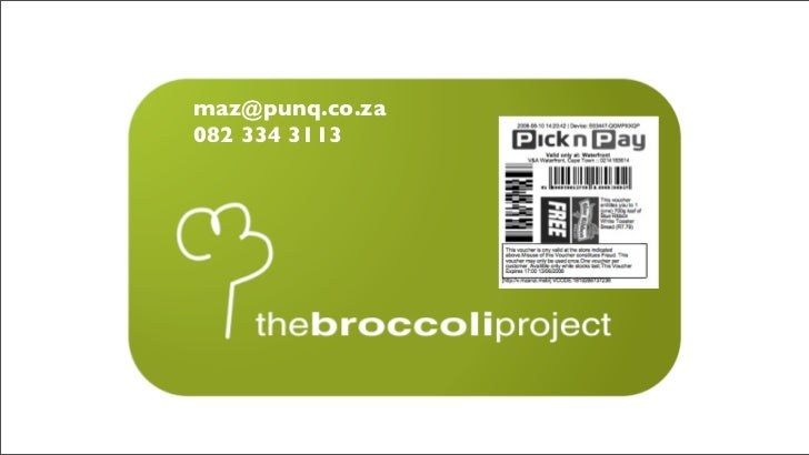 The Broccoli Project