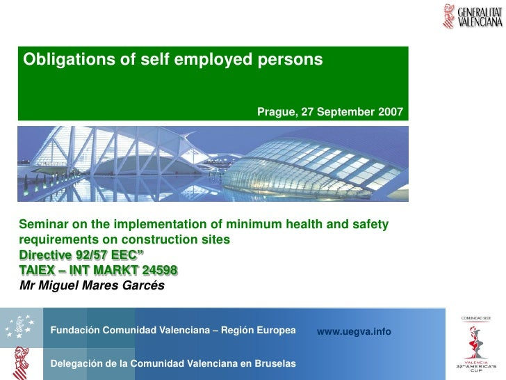 Presentation by mares, self employed,prague 270907