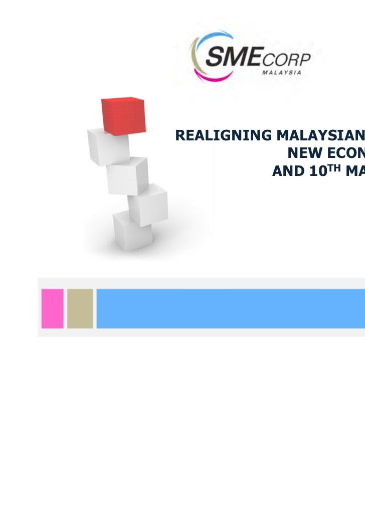 REALIGNING MALAYSIAN SMEs TO THE            NEW ECONOMIC MODEL          AND 10TH MALAYSIA PLAN