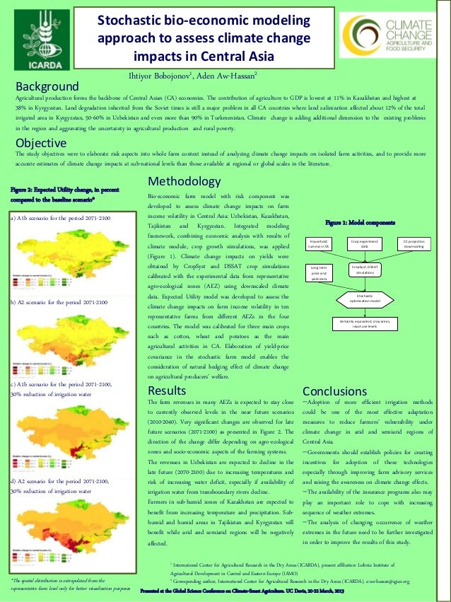 Stochastic bio-economic modeling                                              approach to assess climate change           ...