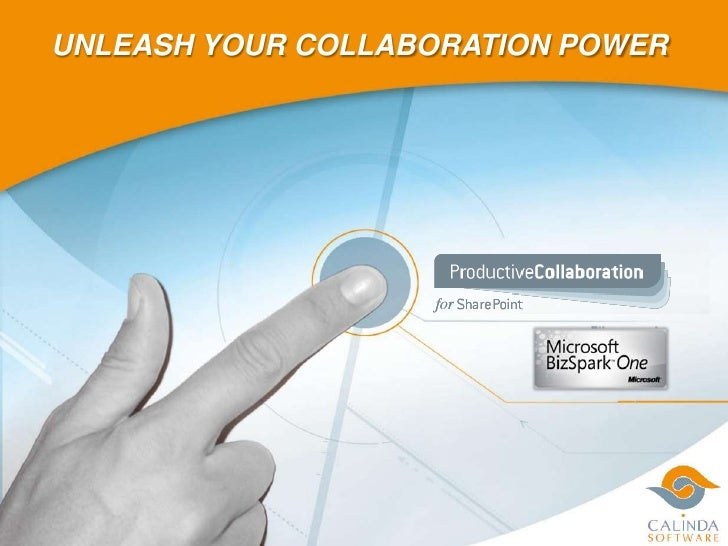 Presentation Calinda Productive Collaboration Nov2010 En