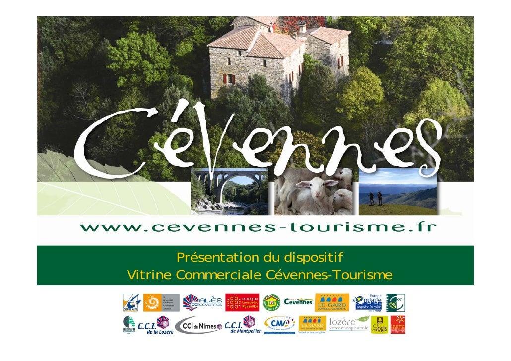 Vitrine Commerciale Cevennes Tourisme