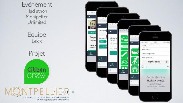 Evénement Hackathon Montpellier Unlimited Equipe Lexik Projet