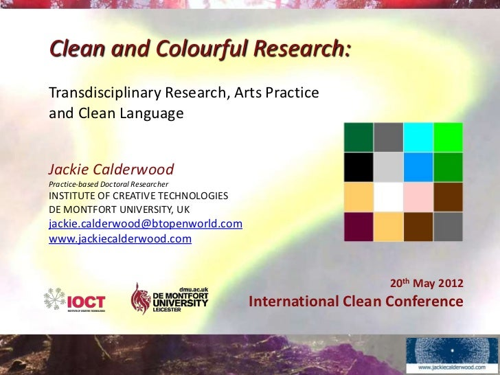 Clean and Colourful Research