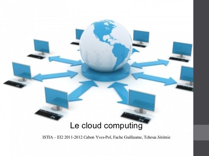 Presentation cloud