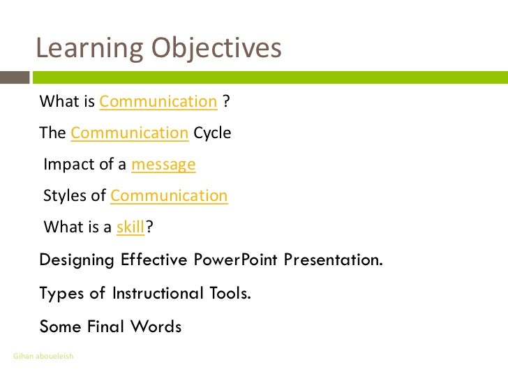 Image Gallery Of Good Communication Skills Ppt