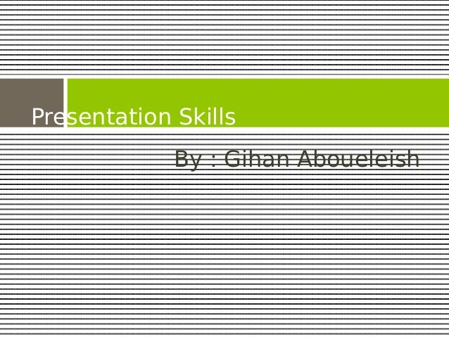 Presentation communication skills_universal