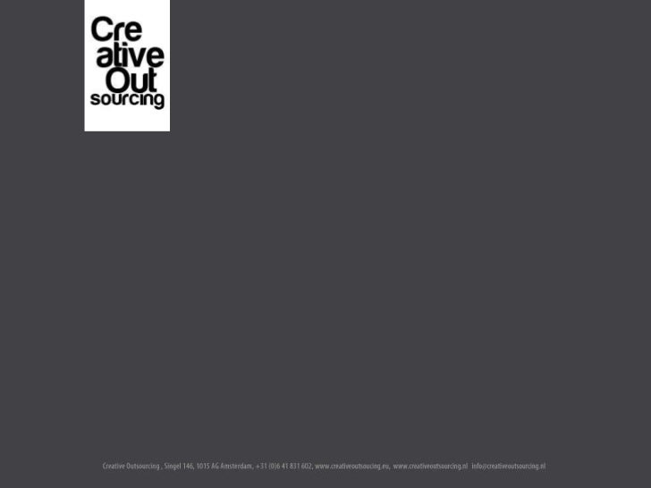 Creative Outsourcing