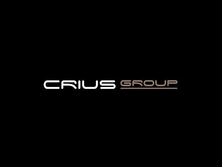 Presentation Crius Group