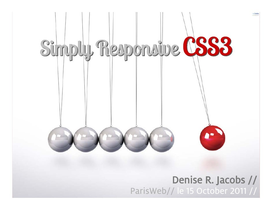 Simply Responsive CSS3