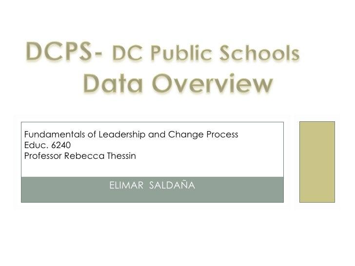 Presentation data overview- E. Saldana