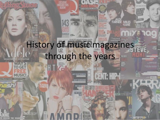 History of music magazines through the years