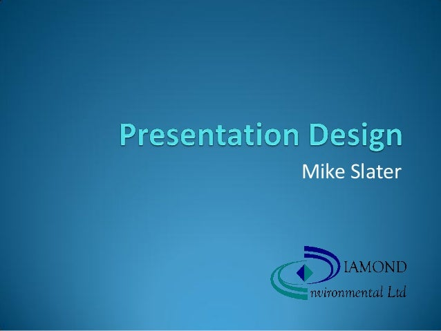 Presentation design ohsi