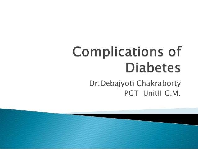 Dr.Debajyoti Chakraborty PGT UnitII G.M.