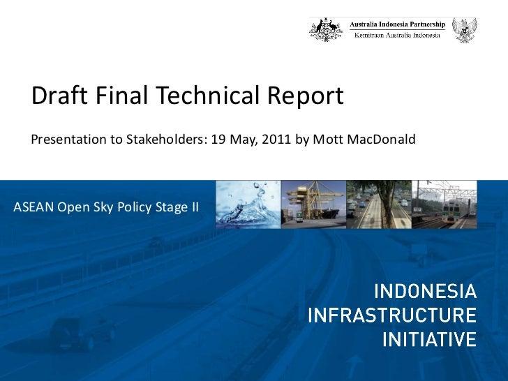 Presentation draft final report final