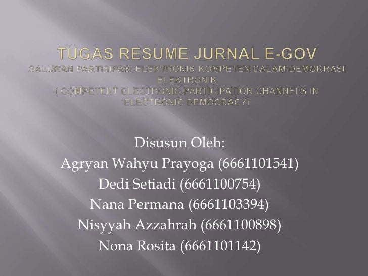 Disusun Oleh:Agryan Wahyu Prayoga (6661101541)     Dedi Setiadi (6661100754)    Nana Permana (6661103394)  Nisyyah Azzahra...