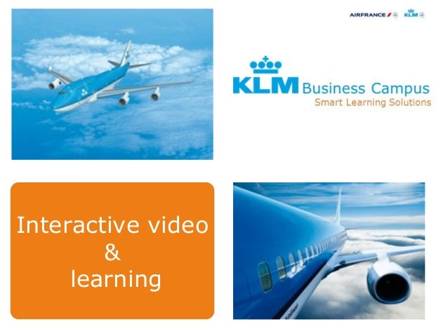 Interactive video&learning