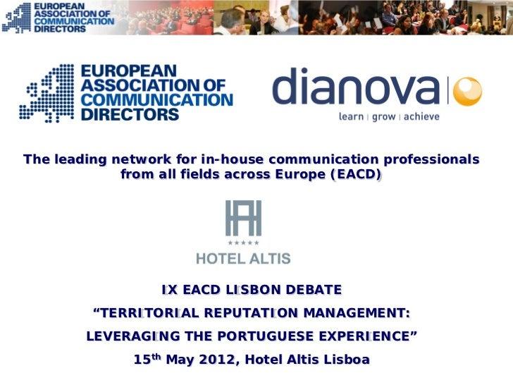 Presentation eacd 2012 portugal