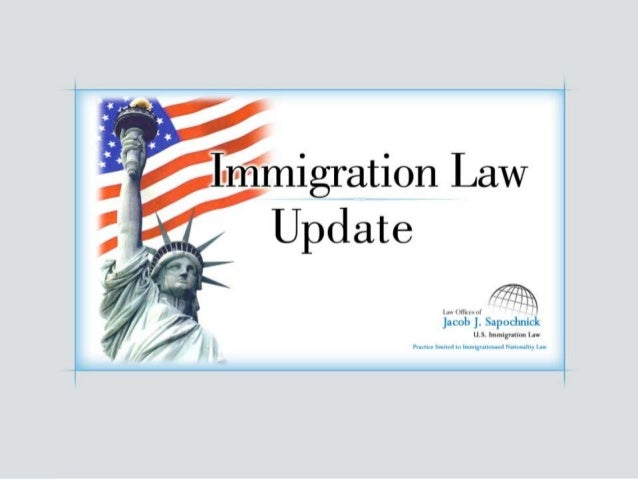 Imigration Law Update