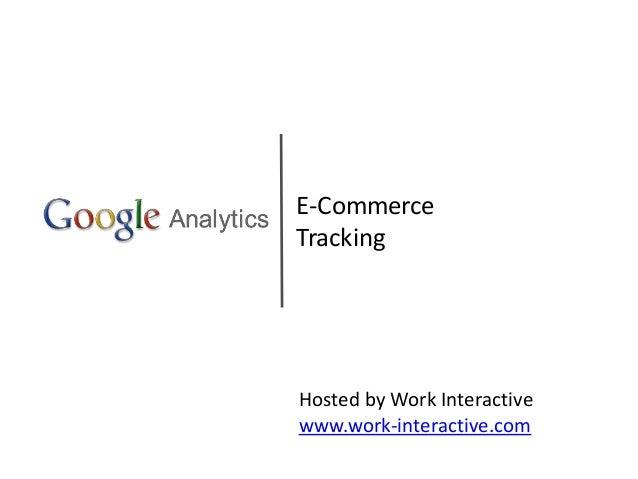 eCommerce Google Analytics Guide